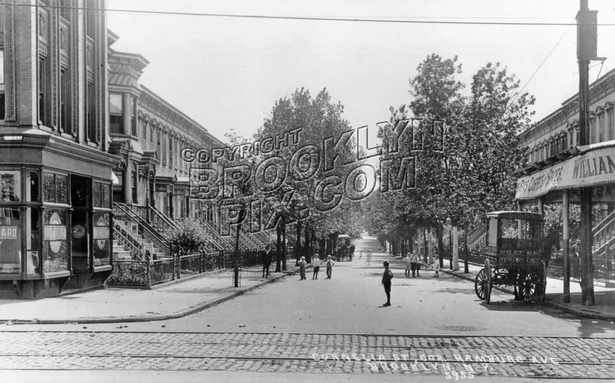 Cornelia Street looking south from Wilson Avenue, 1908
