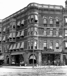 Corner of Flatbush and Sixth Avenues, 1914