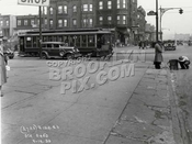 Corner of Ninth Street and Fourth Avenue, northeast view, ca. 1930