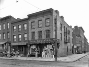 Corner of Smith and Douglass Streets, 1928