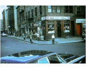 corner scene on the Bowery 1960s