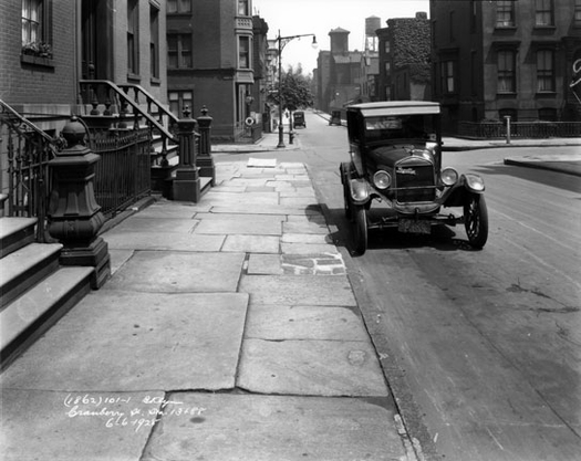 Cranberry street looking towards Willow 1928