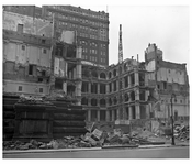Criminal Courts Bldg Demolition 1948