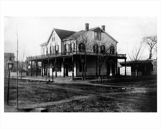 Cropsey Ave & Bay Street L North 1890 Captain Henry Ahrens Hotel