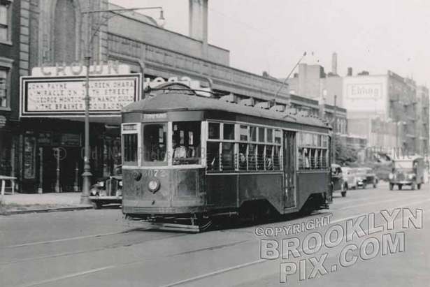 Crown Theater, Empire Boulevard and Balfour Place, Crown Heights. 1947