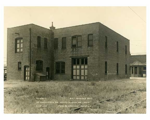 Dekalb Ave Depot  - Office Building Sept 5 1916