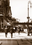 Delancey St. west at Chrystie St. Manhattan 1908