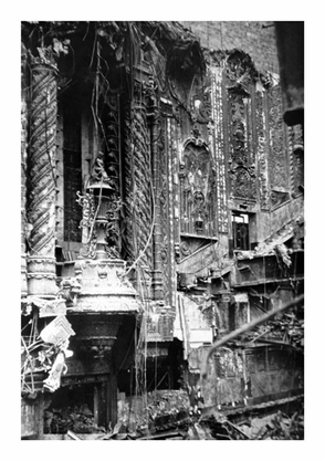 Demolition of the Fox Theater in 1971