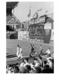 Dodgers leaving the Bull Pen 1956 World Series at Ebbets Field Brooklyn NY