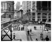 Downtown NYC early 1913