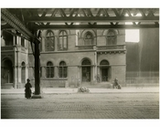 """Dry Dock Savings Bank"" Bowery - East Side - between 2nd & 3rd Streets Nov 1915"