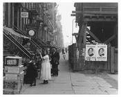 East 14th Street East Village Manhattan, NY  1918