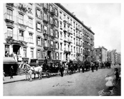 East 15th Street  Gramercy Park  - Downtown Manhattan 1910 NYC