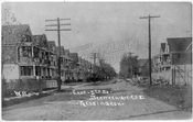 East 5th Street north from Avenue F to Ditmas Avenue(?), 1906