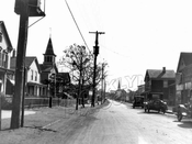 East 92nd Street (Canarsie Road), looking south from Flatlands Avenue, 1923