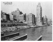 East River Drive 49th St North Manhattan NYC 1929