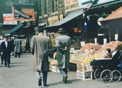 East Williamsbridge Road Bronx Shopping district 1950s