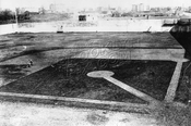 Ebbets Field under construction, 1912