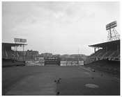 Ebbets Field with Score Sign
