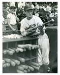 Eddie Basinski shortstop for the Brooklyn Dodgers - NYC