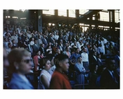 Fans at Ebbets Field - look on while the Brooklyn Dodgers take the field - Brooklyn NY