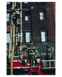 FDNY at work in Brooklyn NY 1965