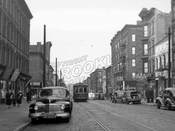 Fifth Avenue looking northeast from Carroll Street to President Street, 1948
