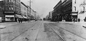 Fifth Avenue northeast at 58th Street, c.1918