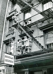 Fire Escape Scene Lower East Side 1952