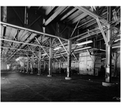 first floor of pier shed  of Pier #4 - Brooklyn Army Supply Base