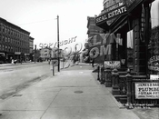 Flatbush and 6th Avenues, looking north, 1914