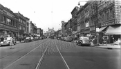 Flatbush Avenue, looking north from Tilden Avenue, 1949