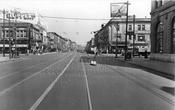 Flatbush Avenue, looking north to Church Avenue, 1944