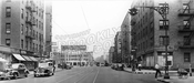 Flatbush Avenue, looking north to Maple Street, 1943