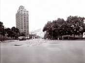 Flatbush Avenue, north from Grand Army Plaza, 1946