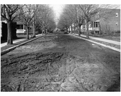 Flatbush relief sewer - Looking west from Ave H. 1925