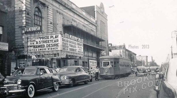 Flatbush Theater, Church Avenue east of Flatbush Avenue, 1950