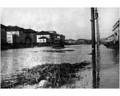 Flooded Avenue P near Madison High School 1920s