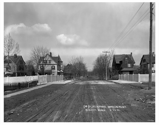 Flushing improvement - Percy Street Bridge 1914