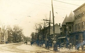 Flushing Queens Looking down Broadway 1910