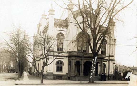 Flushing Queens Town Hall 1910