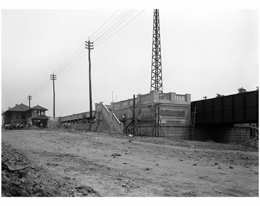 Flushing renovations - Broadway Station 1914