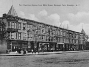 Fort Hamilton Avenue (Parkway) across 39th Street, 1912