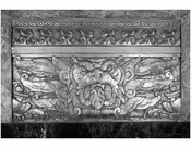 Fox Theater - decorative panel in Grand Lobby - 20 Flatbush Ave & 1 Nevins St.