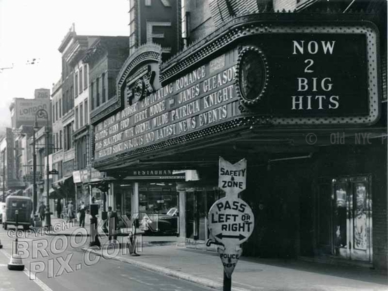 Fox Theater, Livingston off Flatbush Avenue, 1949