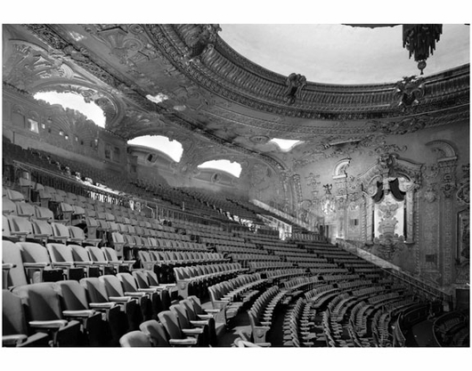 Fox Theater - middle and upper balcony levels  - 20 Flatbush Ave & 1 Nevins St.