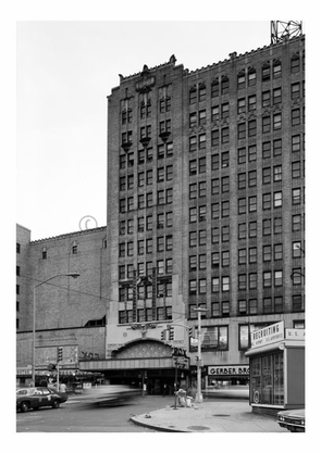 Fox Theater -partial front view  - 20 Flatbush Ave & 1 Nevins St.