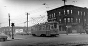 Frank's Bar on the southeast corner of Avenue N and Utica Avenue, 1951