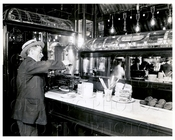 Free Lunch at Old Time Saloon Manhattan NYC 1908