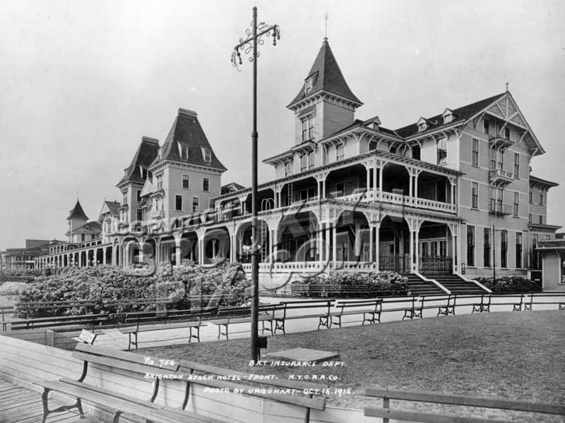 Front Of Brighton Beach Hotel 1915